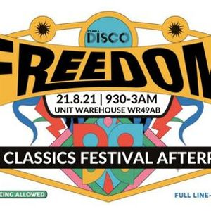 NEW DATE 31.7.21 - Freedom Party (NO RESTRICTIONS DANCING ALLOWED)  Atique Velvet Nightclub