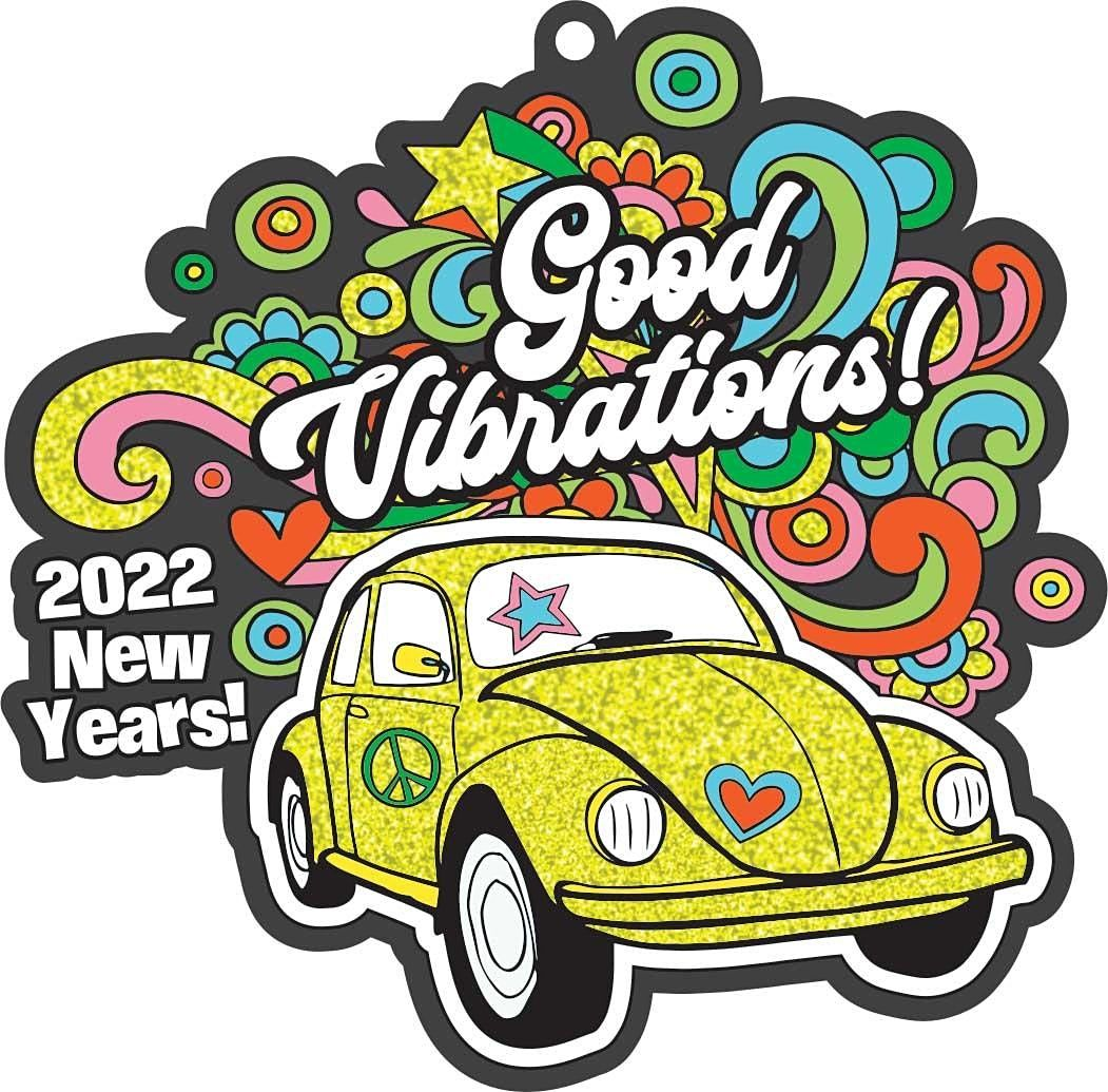 New Year: Good Vibrations 1M 5K 10K 13.1 26.2-Save $2, 1 January | Event in Jersey City | AllEvents.in