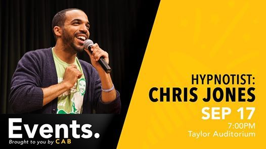 Hypnotist Chris Jones
