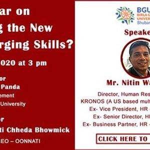 Webinar on navigating the new normal - emerging skills