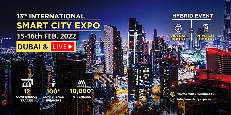 13th International Smart City Expo 4-5 Oct 2021, DIFC Dubai, 4 October | Event in Dubai | AllEvents.in
