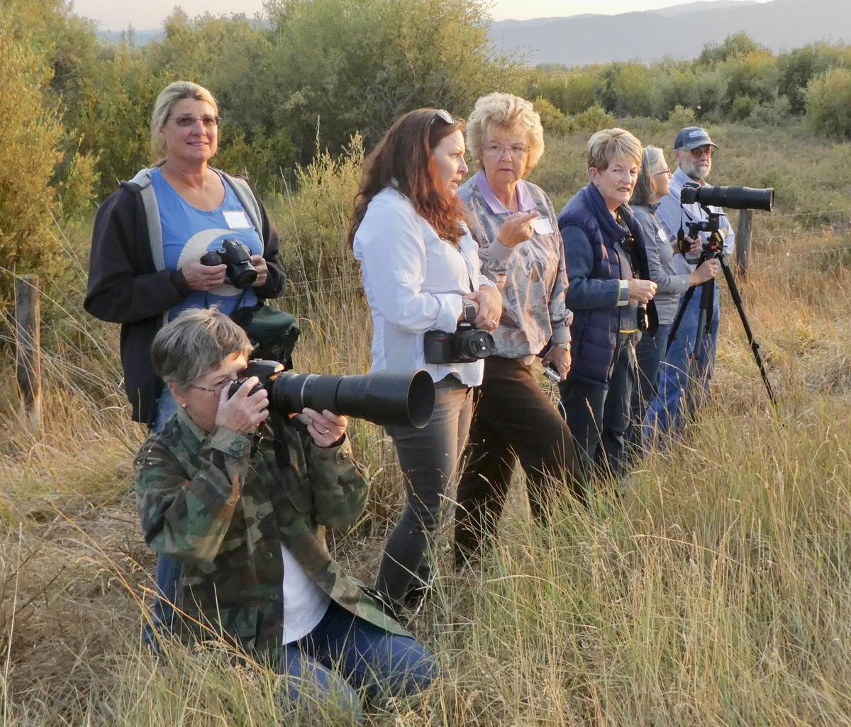 2019 Greater Yellowstone Crane Festival 2-day Photography