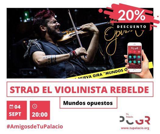 20% dto. Strad – El violinista rebelde, 12 February | Event in Granada | AllEvents.in