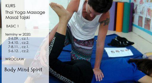 KURS Thai Yoga Massage Masa Tajski B1
