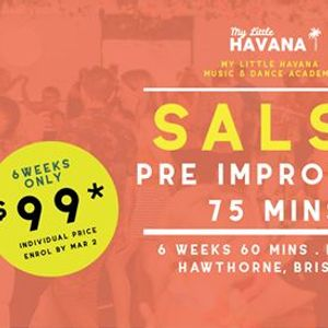 Salsa PreImprovers 6 Weeks Starts March 5