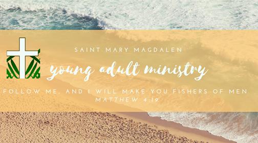 Mens Mass 7 pm at St. Mary Magdalen Church