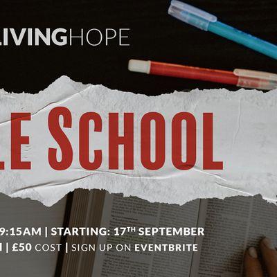 Living Hope Bible School 202021