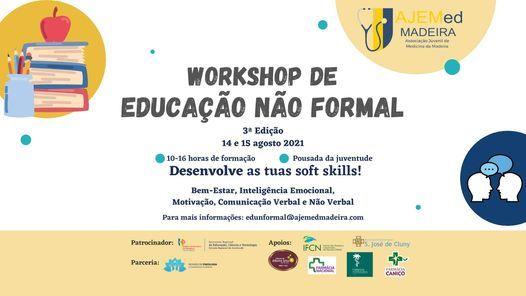 Workshop de Educação Não Formal 3ª Edição (WENF 3.0), 2 August   Event in Funchal   AllEvents.in
