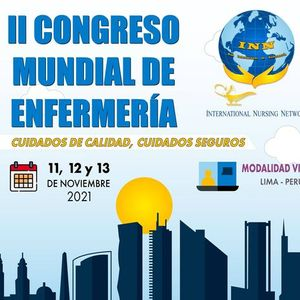 II CONGRESO MUNDIAL DE ENFERMERIA Lima PERU(Virtual)