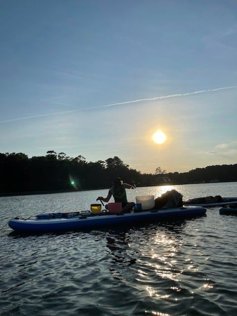 Stand Up Paddleboard Full Moon Floating Soundscape Meditation, 23 September | Event in Virginia Beach | AllEvents.in