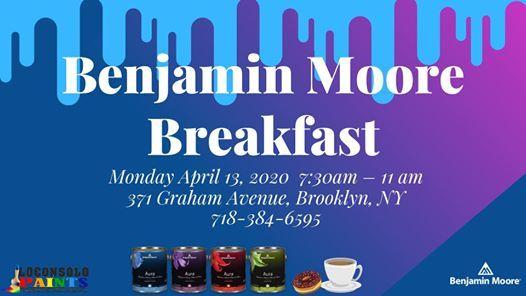 Benjamin Moore Breakfast