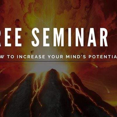 How to Achieve 100% Mind Potential (Free Seminar)