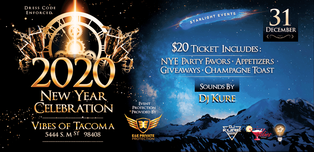 Tacoma Events 2020.2020 New Year S Celebration