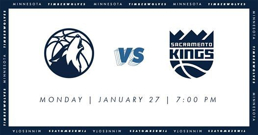 Minnesota Timberwolves Vs Sacramento Kings At Target Center