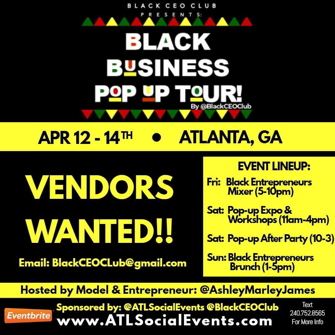 Pop-Up For the Culture: Black Business Expo & Day Party