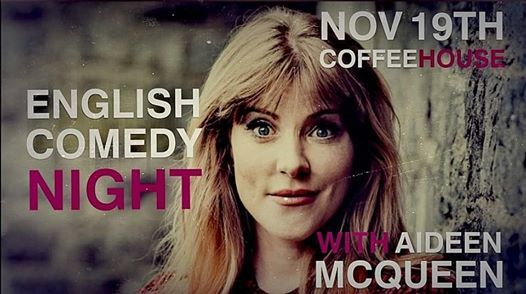 English Comedy Night With Aideen McQueen