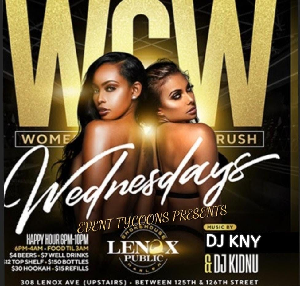 EVENT TYCOONS  PRESENTS WOMEN CRUSH WEDNESDAY