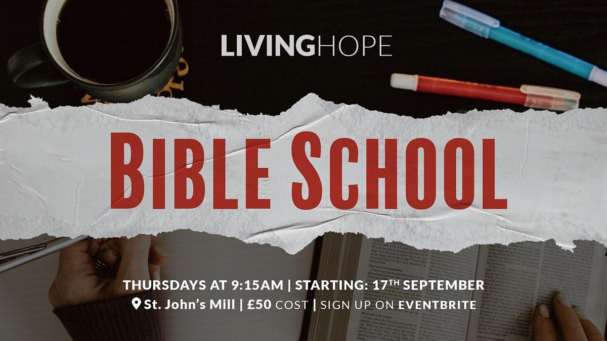Living Hope Bible School 2020/21   Event in Peel   AllEvents.in