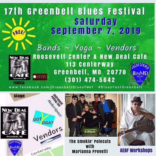 17th Greenbelt Blues Festival