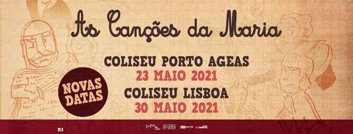 Nova Data: As Canções da Maria // Coliseu dos Recreios, 30 May   Event in Lisbon   AllEvents.in