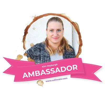 Kim Heyburgh, Cafinnate Ambassador