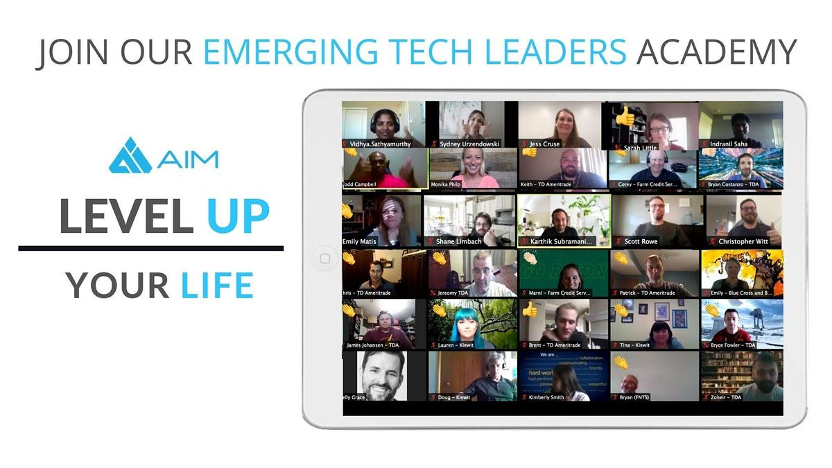 AIM Emerging Tech Leaders Academy  -  Online Fall  Session | Online Event | AllEvents.in