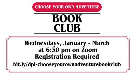 Choose Your Own Adventure Book Club | Event in Davenport | AllEvents.in