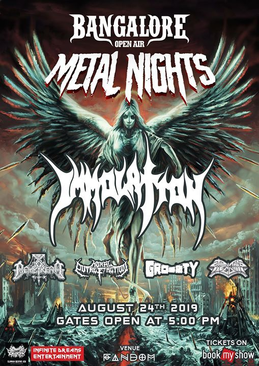 Bangalore Open Air - Metal Nights Feat. Immolation
