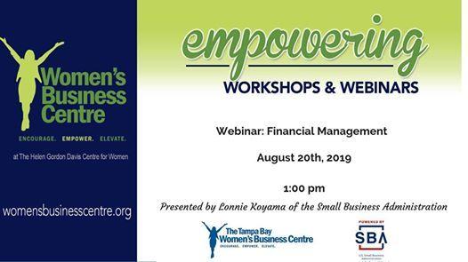 Webinar: Financial Management at OnlineTampa, Florida