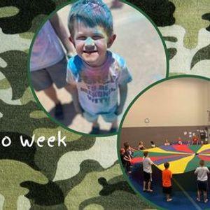 Only 1 Spot LeftSummer Camp  Rainbow & Camo Week