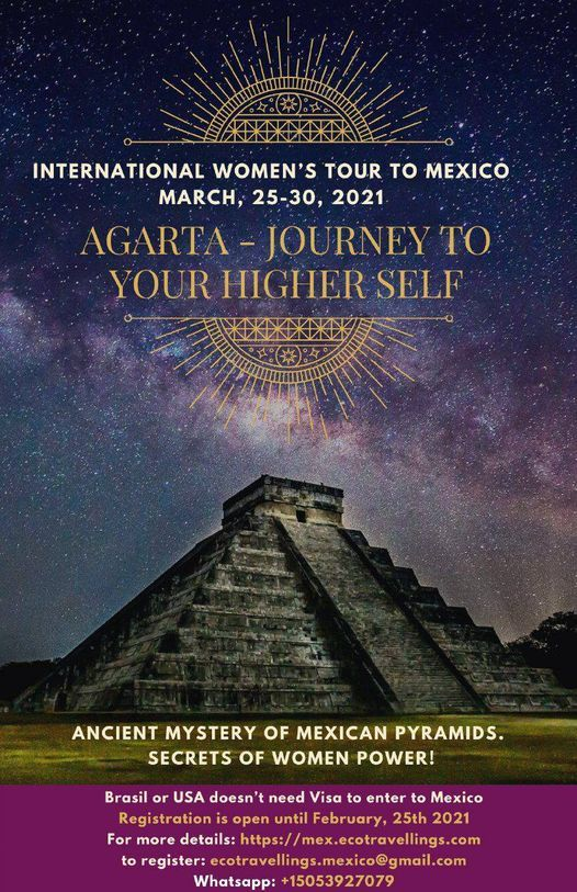 Journey to your Higher Self, 25 March | Event in Mexico City | AllEvents.in