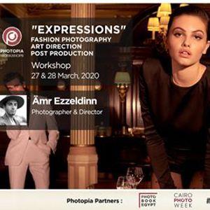 Expressions  Fashion Photography workshop by mr Ezzeldinn