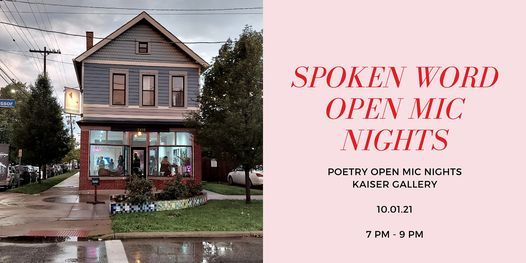 Spoken Word Open Mic Nights, 1 October | Event in Cleveland | AllEvents.in