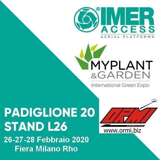 Fiera Myplant & Garden 2020 - International Green Expo