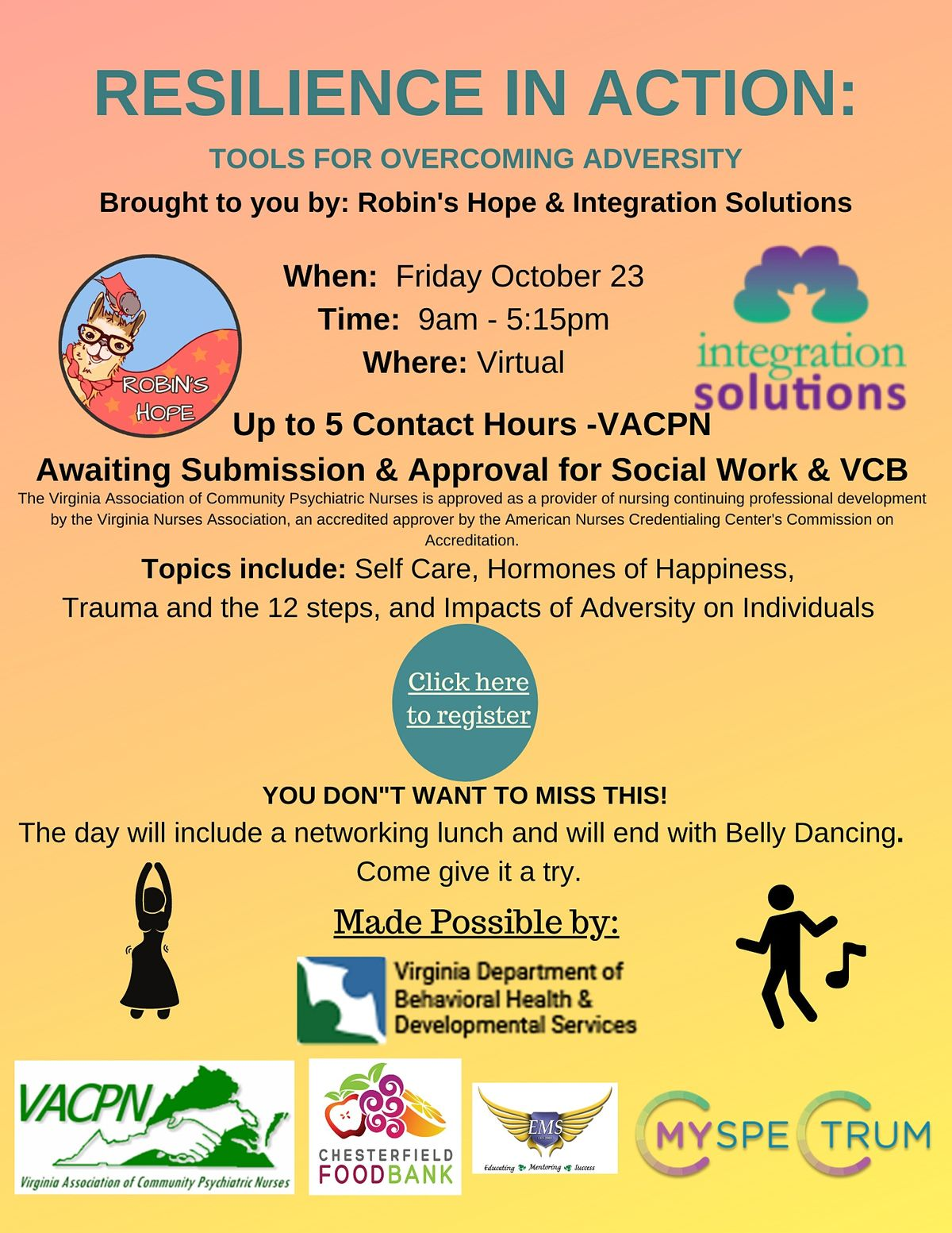 Resilience in Action: Tools for Overcoming Adversity | Online Event | AllEvents.in