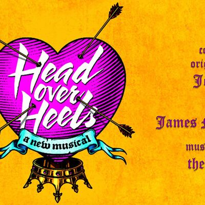 HEAD OVER HEELS book by Jeff Whitty music  lyrics the Go-Gos
