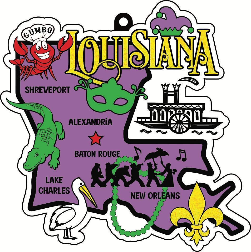 2021 Race Thru Louisiana 5K 10K 13.1 26.2 -Participate from Home Save $5, 1 November   Event in Jefferson City