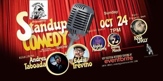 Diggers Presents Stand Up Comedy Headlining Andres Taboada | Event in Willits | AllEvents.in