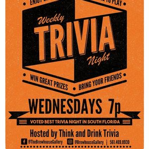Think & Drink Trivia at The Brewhouse Gallery