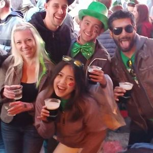 St. Patricks Day Happy Hour in the Park