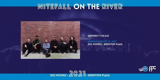 Umphrey's McGee at Brenton Plaza, 15 August | Event in Des Moines | AllEvents.in