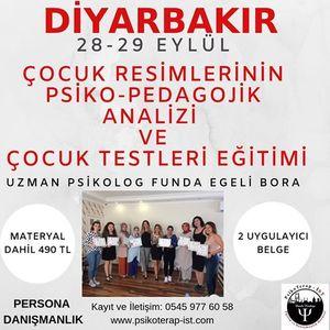 28-29 Eyll Diyarbakr ocuk Testleri Eitimi
