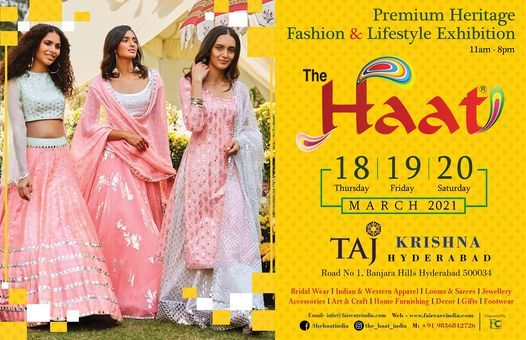 THE HAAT : HYDERABAD, 18 March   Event in Hyderabad   AllEvents.in