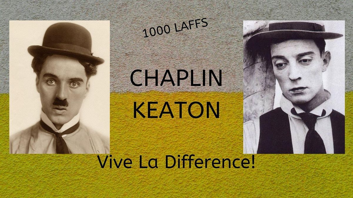 Toronto Silent Film Festival: Chaplin/Keaton-Vive la Difference!, 6 November | Event in Toronto | AllEvents.in