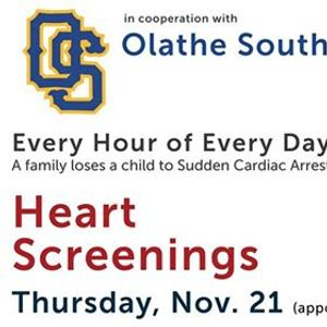 Olathe South HeartCheck  CPR training