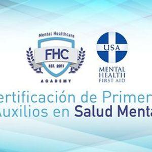 Obtn tu Certificacin de Primeros Auxilios en Salud Mental