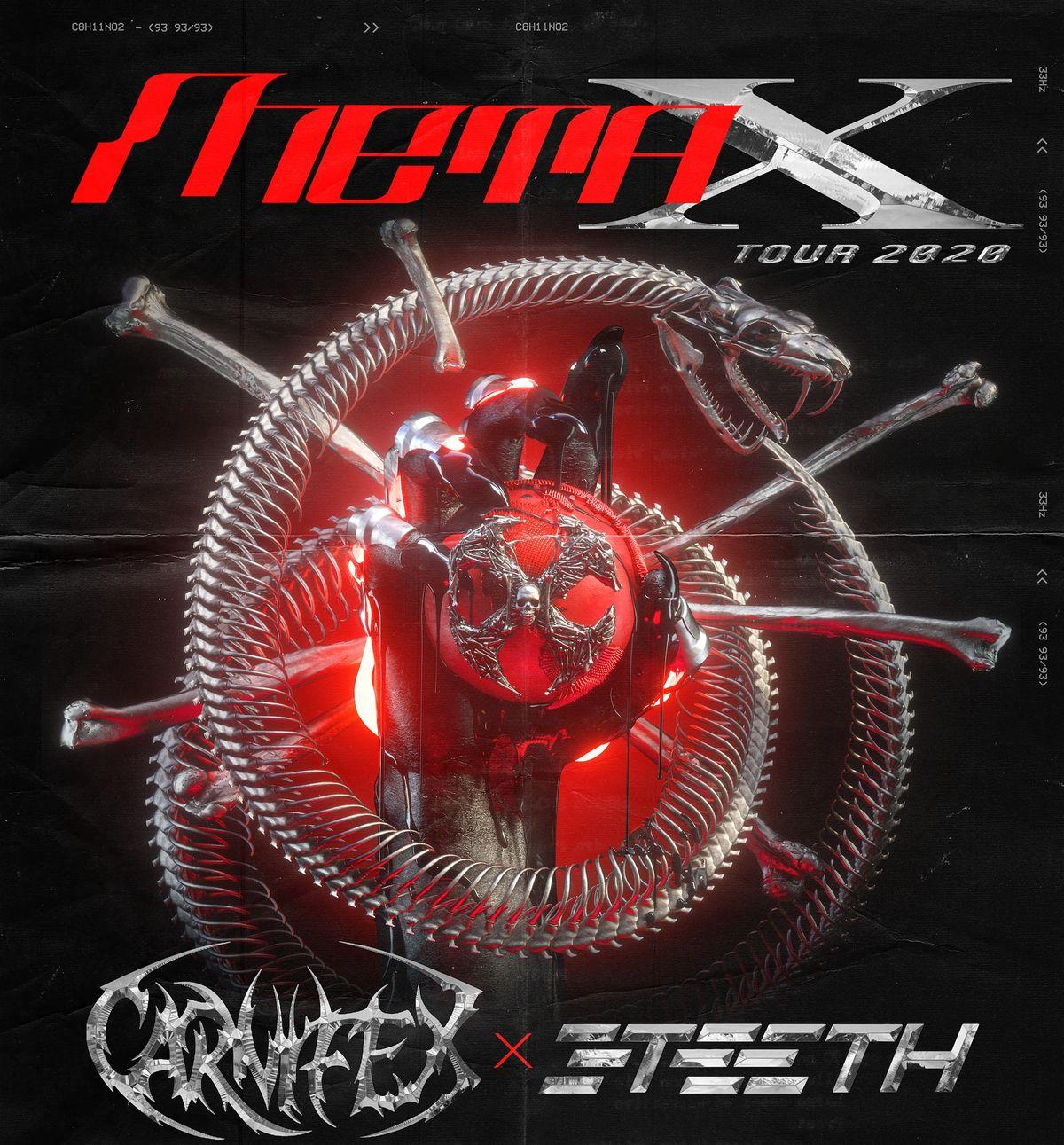 META X TOUR CARNIFEX  3TEETH