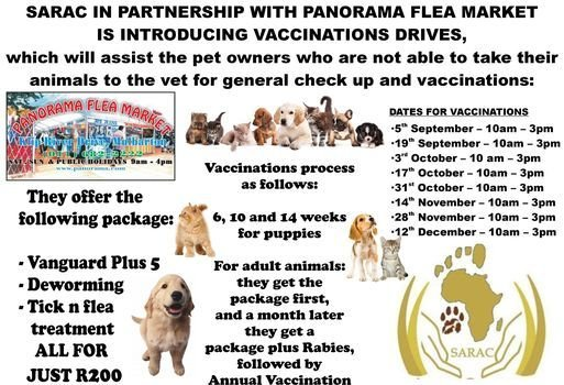 SARAC Vaccination Drive, 17 October | Event in Johannesburg | AllEvents.in