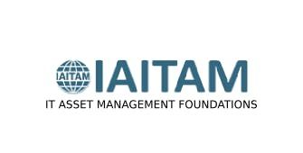IAITAM IT Asset Management Foundations 2 Days Virtual Live Training in Melbourne