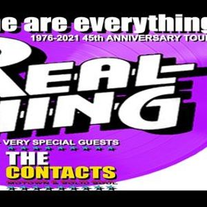 THE REAL THING live in concert
